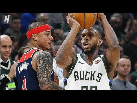 Washington Wizards vs Milwaukee Bucks - Full Game Highlights | January 28, 2020 | 2019-20 NBA Season
