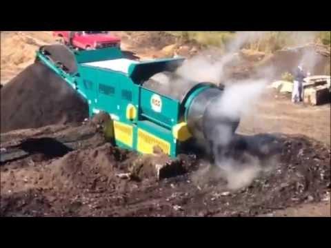 Revolver RT508 Trommel on Compost