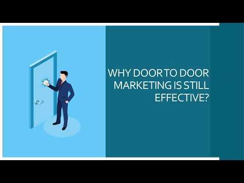 WHY IS DOOR TO DOOR MARKETING ALWAYS EFFECTIVE?
