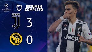 Juventus 3-0 Young Boys - GOLES Y RESUMEN - Grupo H UEFA Champions League
