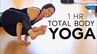 1 Hour Total Body Yoga Workout | Fightmaster Yoga Videos