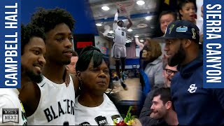 Campbell Hall (CA) vs. Sierra Canyon (CA) - 2020 Senior Night - ESPN Broadcast Highlights