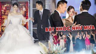 Đám cưới á Hậu Tường San: HÉ LỘ loạt KHOẢNH KHẮC XÚC ĐỘNG trong lễ cưới KÍN TIẾNG!