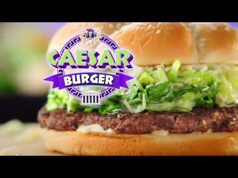 Braum's Caesar Burger