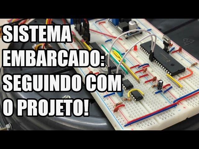 SISTEMA EMBARCADO DO ROBÔ ASPIRADOR | Usina Robots US-3 #023