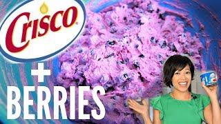 AKUTAQ Eskimo Ice Cream Recipe Test   Crisco & Berries