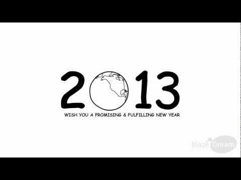 2013 New Year Greetings