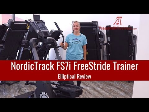 video NordicTrack FreeStride Trainer FS7i iFit Enabled