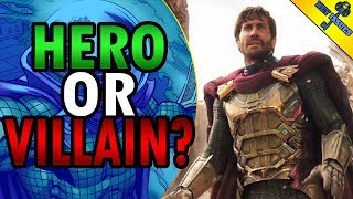 The Mystery of Mysterio | Is He A Villain? THEORY