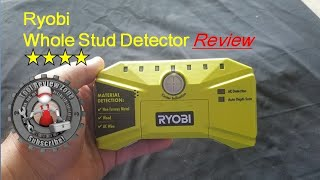 RYOBI Whole Stud Detector is the best for finding wall studs!