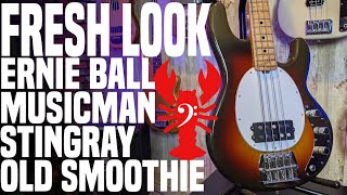 "Ernie Ball Music Man Stingray ""Old Smoothie"" 40th Anniversary Reissue- WOW- LowEndLobster Fresh Look"