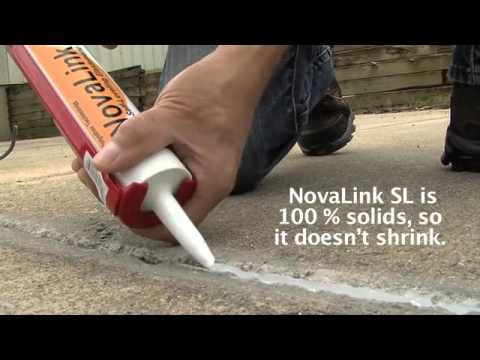 Sealing Concrete Expansion Joints SD