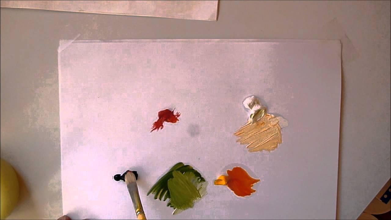 cours de peinture faire toutes les couleurs avec seulement 3 couleurs youtube. Black Bedroom Furniture Sets. Home Design Ideas