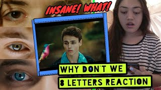 WHY DONT WE ' 8 LETTERS ' MUSIC VIDEO REACTION || INSANE! || JJ Vlogs