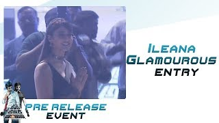 Ileana Glamourous entry & speech@ AAA Pre Release Even..