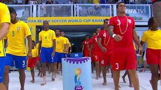 Match 32: Brazil v Tahiti - FIFA Beach Soccer World Cup 2017