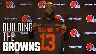 Odell Beckham Jr. arrives in Cleveland | Building The Browns