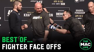 Best of Fighter Face Offs (ft. Masvidal, Khabib, Tyson Fury & more)   TheMacLife Archives