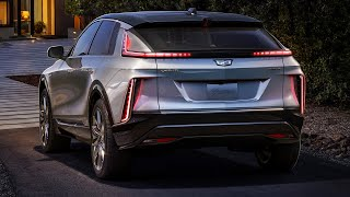 2023 Cadillac LYRIQ - interior Exterior and Driving (Luxury Electric SUV)