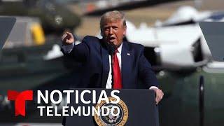 Donald Trump intensifica sus ataques contra Joe Biden | Noticias Telemundo