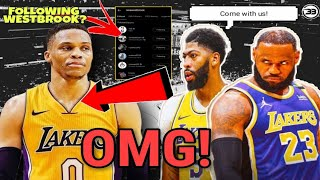 LeBron James And Anthony Davis Secretly Recruiting Russell Westbrook | LAKERS MASTER PLAN