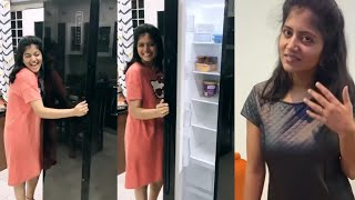 Shiva Jyothi shares latest happiness video..
