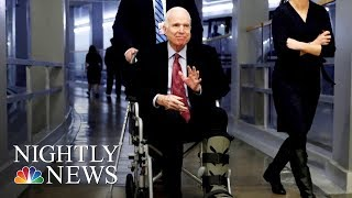 Sen. John McCain Hospitalized During Critical Week For Congress | NBC Nightly News