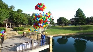 Best Proposal Ever!!! Inspired by Pixar's UP (Keep tissues nearby)