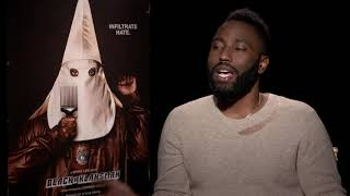 John David Washington on the significance of Ron Stallworth's story| BLACKkKLANSMAN