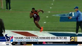 Texans take Tytus Howard #23 in 1st round