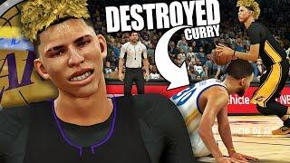 NBA 2K17 MyCAREER LaMelo Ball #9 - LaMelo DESTROYS Curry!!! MY LAST 2K17 VIDEO!