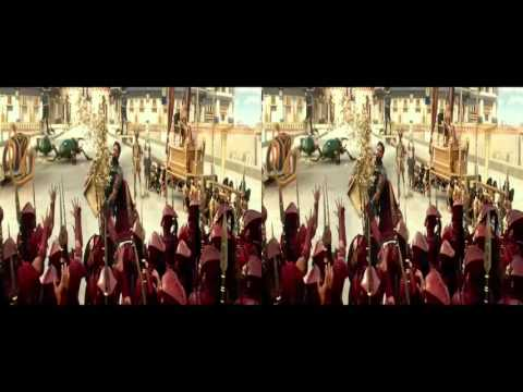 GODS OF EGYPT TRAILER SBS 3D