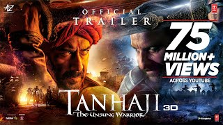 Tanhaji: The Unsung Warrior- Official Trailer- Ajay Devgn,..