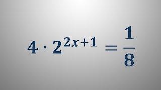 Eksponentna enačba 1