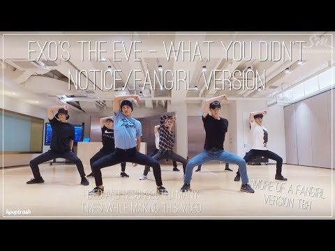 EXO's The Eve - What You Didn't Notice/Fangirl And Fanboy Version