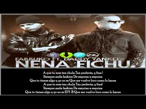 Nena Fichu - Farruko Ft. Daddy Yankee (Official Remix)(Lyrics)