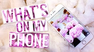 What's On My Phone │PerfectHonesty