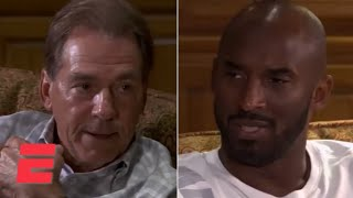 Kobe Bryant visits Alabama football team, has sit-down conversation with Nick Saban | ESPN