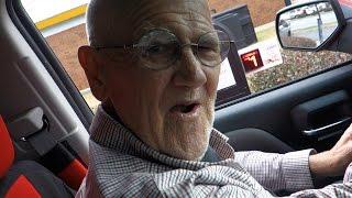 Angry Grandpa - The Burger King Chicken Burger