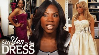 Bride Wants Bridesmaids to Go Over Budget! | Say Yes To The Dress Bridesmaids