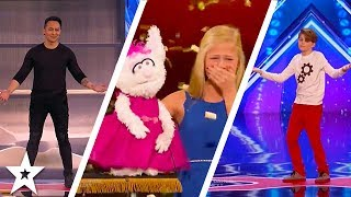 America's Got Talent 2017 Week 1 Auditions | Darci Lynne, Demian Aditya & More!!