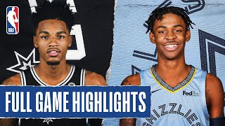 SPURS at GRIZZLIES | FULL GAME HIGHLIGHTS | August 2, 2020