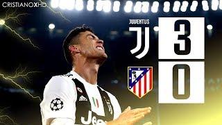 Juventus Lội Ngược Dòng Ngoạn Mục 3-0  Trước Atletico Madrid. Ronaldo Lập Hat-trick. 12/03/2019- HD