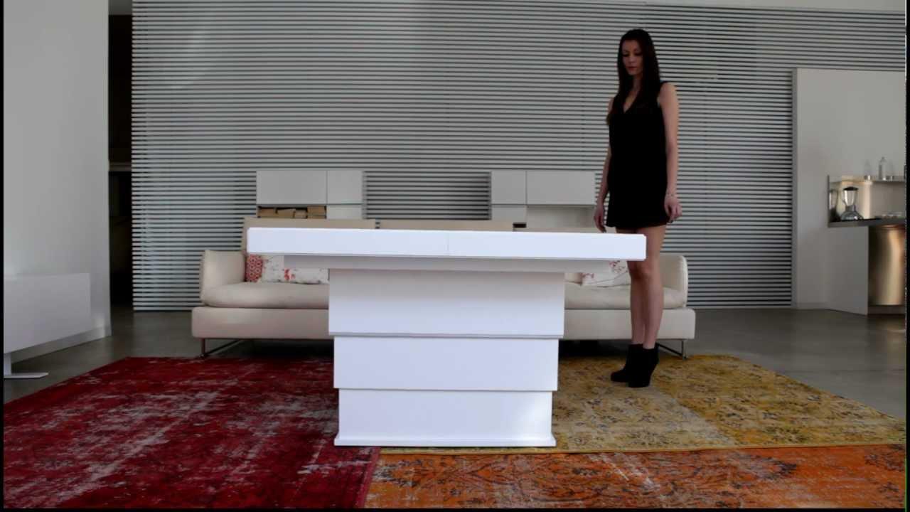 Tavolino trasformabile youtube for Tavolo trasformabile