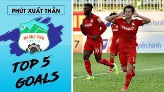 5 siêu phẩm của Hoàng Anh Gia Lai sau 8 vòng đấu V-league 2019 | HAGL FC