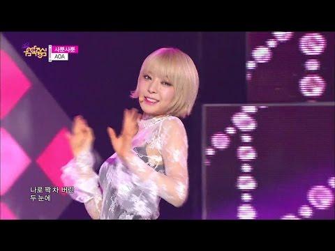 [HOT] AOA - Like a Cat, 에이오에이 - 사뿐사뿐, Show Music core 20141213