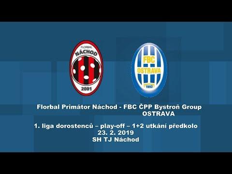 dorostenci, předkolo play-off, Náchod-Ostrava