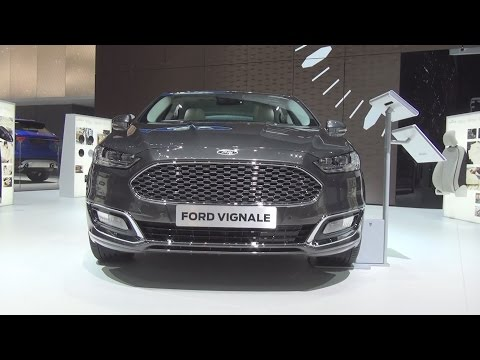 Ford Mondeo Vignale 2.0 TDCi 4x4 Magnetic (2016) Exterior and Interior in 3D