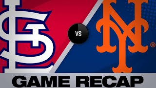 Mets hold off Cards' late surge for 8-7 win | Cardinals-Mets Game Highlights 6/15/19