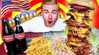 I ATE THE MOST UNHEALTHY BURGER IN AMERICA! (20,000+ CALORIES)